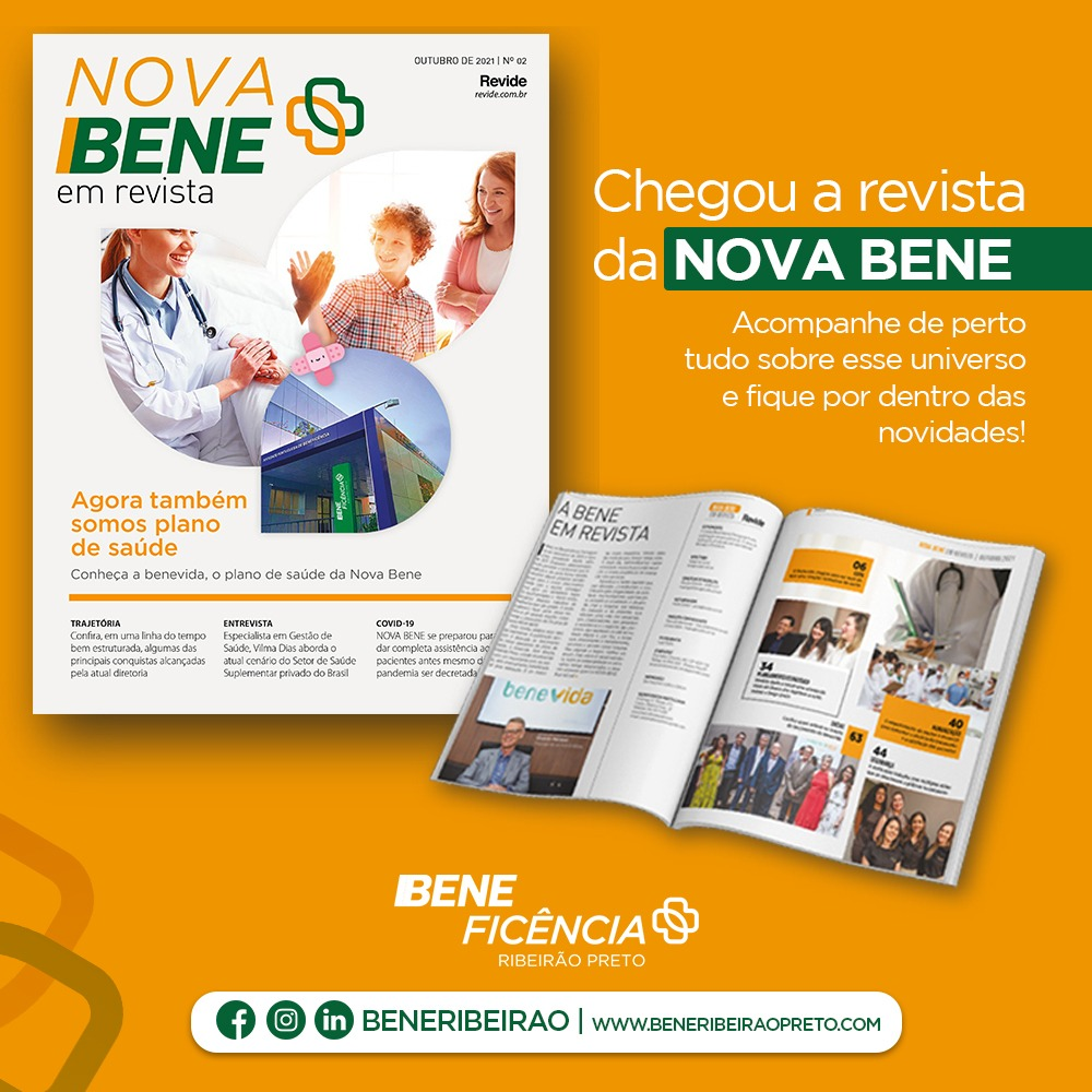 Leia agora a NOVA BENE em revista!
